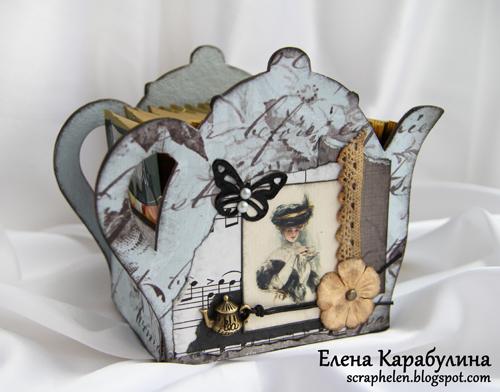 Чайные шкатулки своими руками