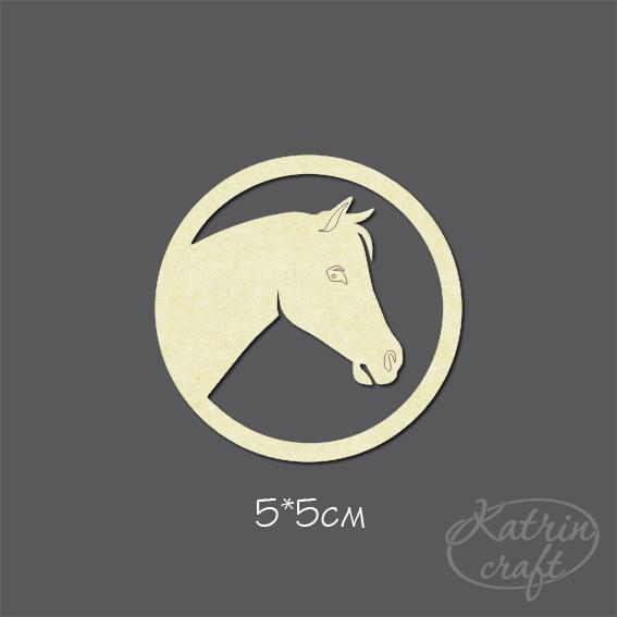 Чипборд Лошадь эмблема - Животные